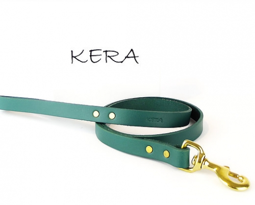 Luxury Green Dog Leads