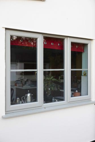 Colour Bonded PVCu Window