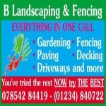 B Landscaping And Fencing