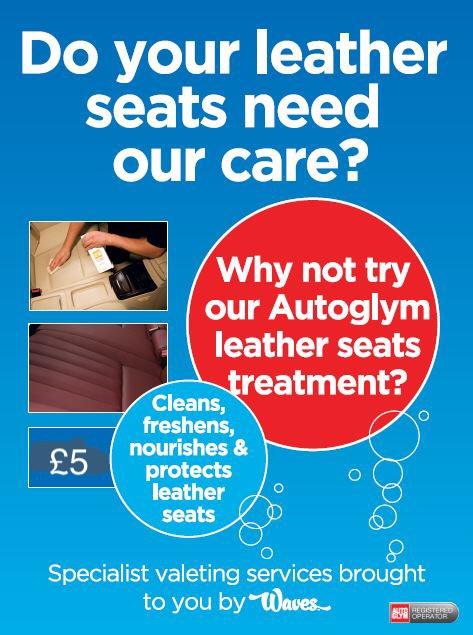 Leather seats treatment