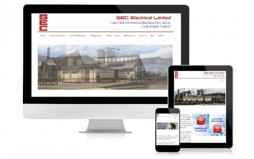 Responsive Web Design & Development SEC Electrical