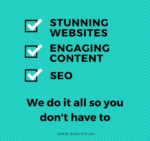 Stunning Websites, Engaging Content and SEO to help you stand out online