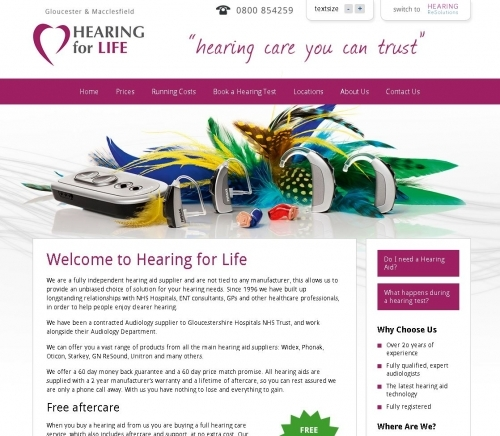Website: Hearing.co.uk