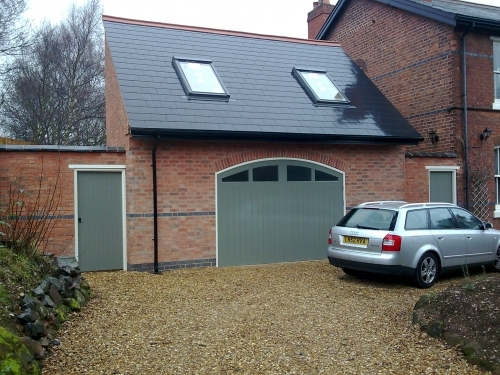 Bishop Rd Sutton Coldfield garage and games room extension