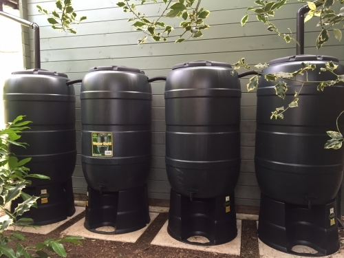 4 Waterbutts we recently installed