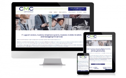 Responsive Web Design & Development CMC Communications