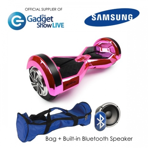 8? DRIFTER HOVERBOARD SWEGWAY IN PINK CHROME