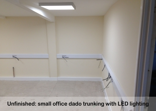 Dado Trunking And Led Lights