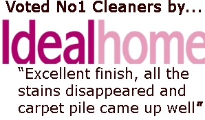 Voted No. Cleaners by Ideal Home Magazine