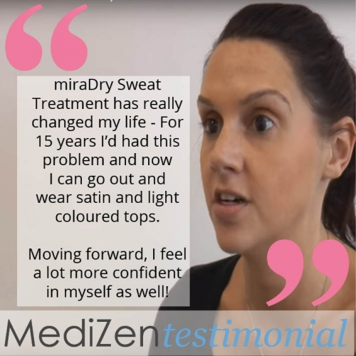 miraDry Sweat Reducing Treatment Review