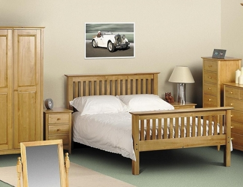 Trent Solid Pine Bedroom Furniture