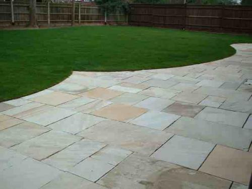 Paving And Turfing