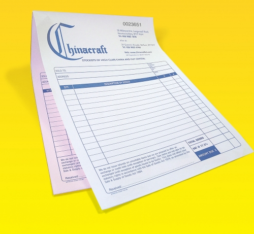 Cheap INVOICE SETS from Carbonless NCR