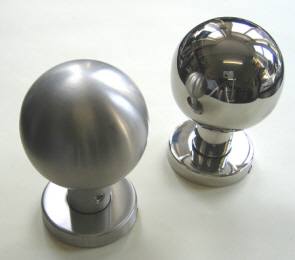 Polished & satin stainless steel