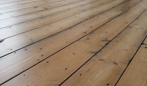Floor Sanding - Antique Look