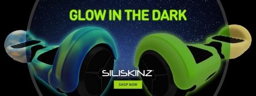 "6.5"" SILISKINZ Silicone Case - Glow In Dark 2 Colours"