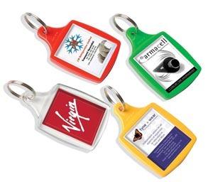 Coloured key rings
