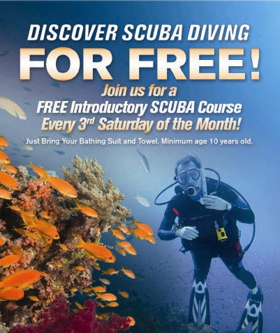 PADI Discover Scuba Diver