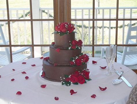 Chocweddingcake
