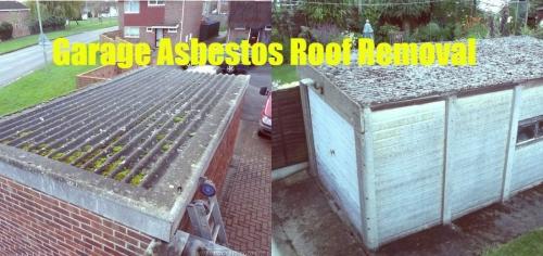 Garage Roof Asbestos Removal