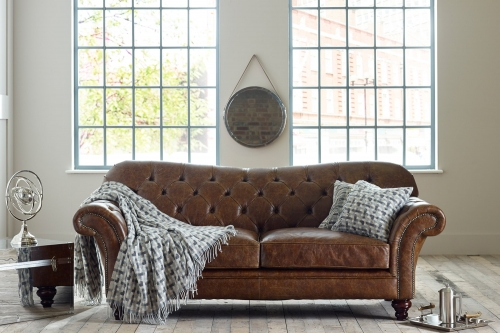 Drummond Vintage Leather Sofa