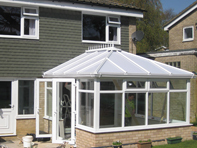 Edwardian conservatory installed in Belstead Ipswich