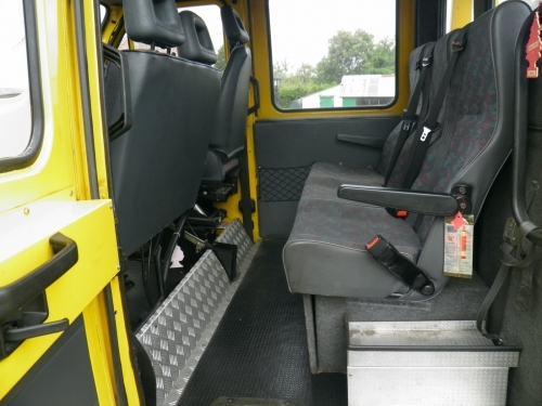 5 SEATER HEATED CREWCAB