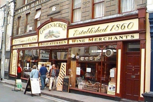 Traditional shop front painted 1997