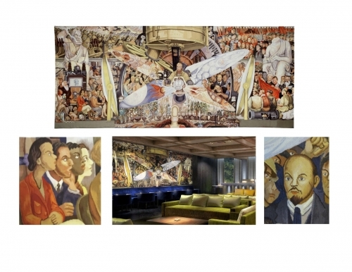 Diego Tapestry in New York Hotel Jpg