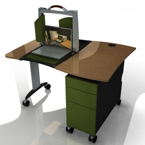 Portable office and laptop case for Paragon Business Furniture