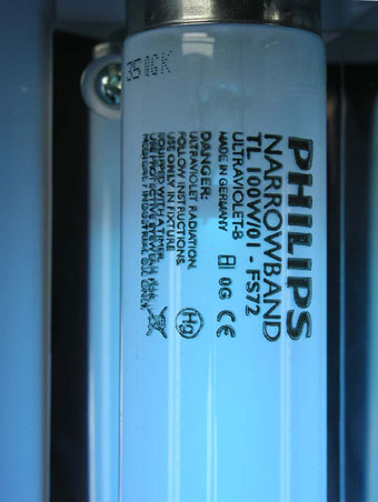 Philips TL01 Narrowband Tubes