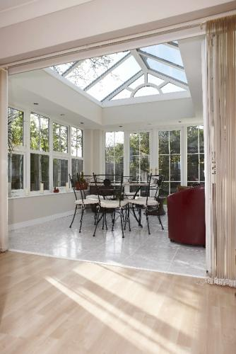 Internal View Of Orangery, With Gable Fronted Lantern