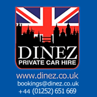 Dinez Taxis And Airport Transfers In Aldershot GU11 3EF, Hampshire, Call our local taxi number in Aldershot 01252 651669