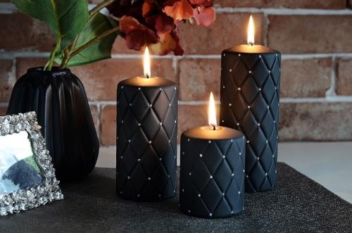 Handmade Candle Florence Black