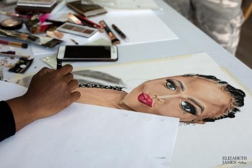 Live Art Saturday with artist Elizabeth Balogun