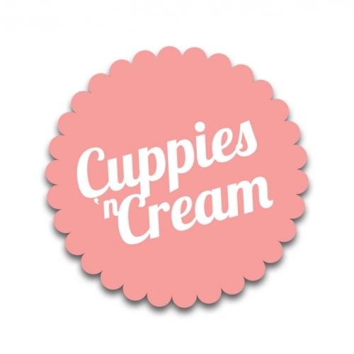 Cuppies 'n' Cream branding