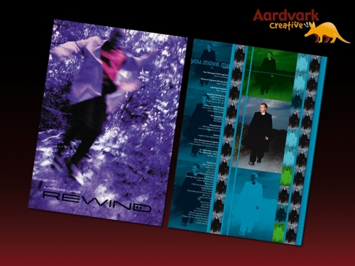 Midge Ure - tour programme design and print