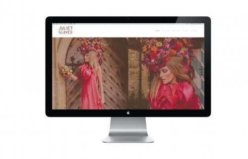 Juliet Glaves - Unforgettable Flowers. Brand Identity & Website.
