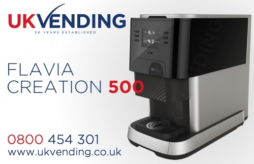 Flavia Creation 500 Coffee Machine Left