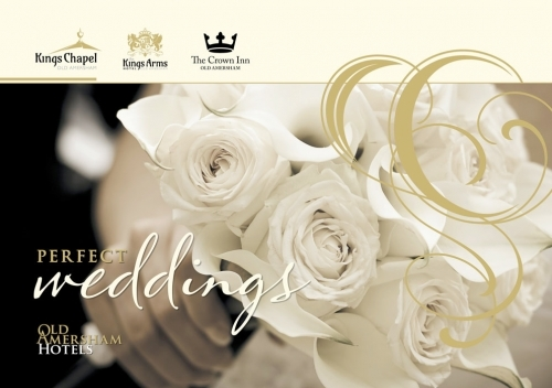 Old Amersham Hotels Wedding Brochure. Design, Artwork & Print
