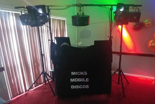 Mobile Disco / DJ Hire Wedding Disco Birmingham