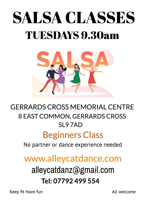 Salsa Dance Classes - Tuesday morning