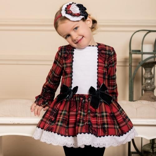 Dolce Petit Tartan Dress