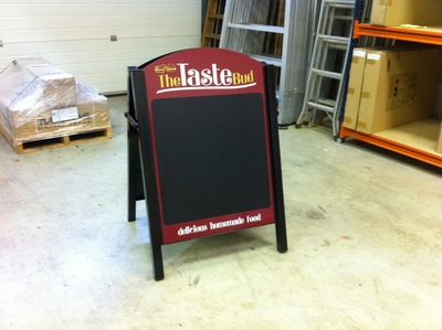 Pavement signs, A Boards, A Frames, Displays and Chalk Boards