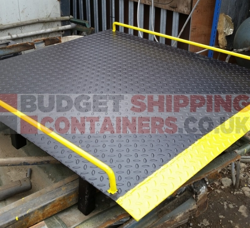 Shipping Container Access Ramps