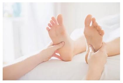 Myofascial release and acupressure