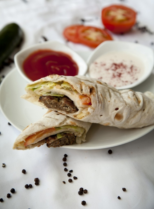 Barg Kebab Sandwich