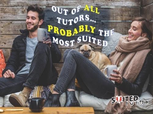 Suited Tutor Slogan or Strapline