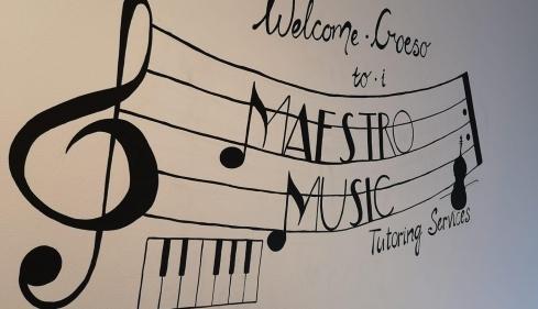 Maestro Music Wall Logo