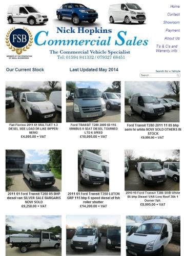 Nick Hopkins Commercial Van & Vehicle Sales